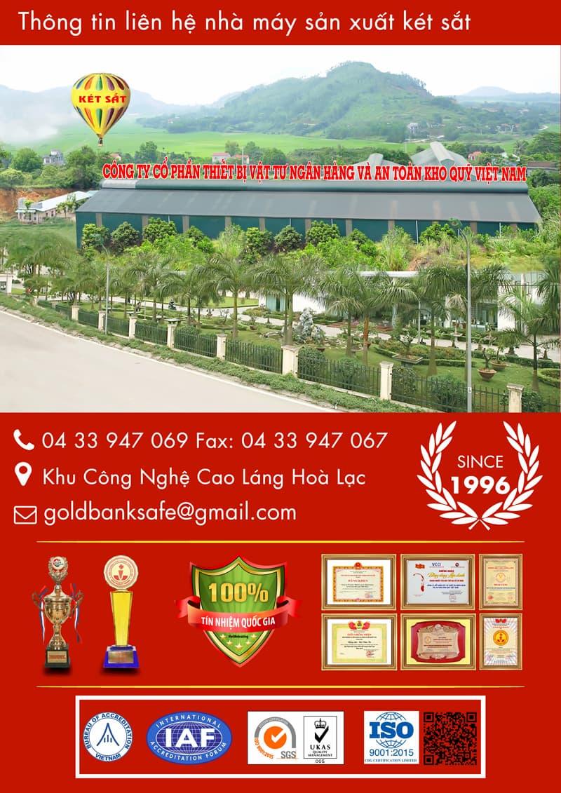 nhà máy sản xuất két sắt