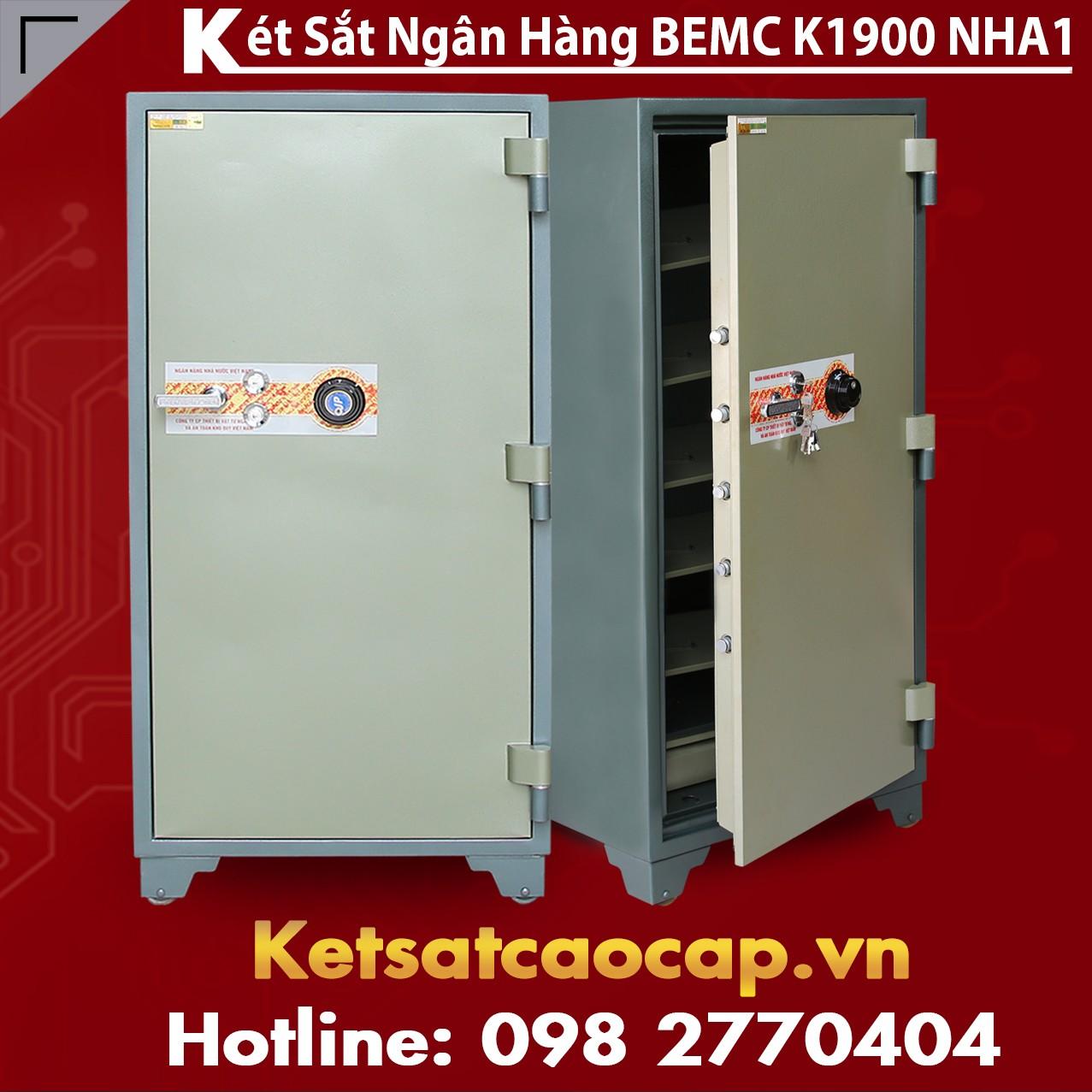 Két Sắt Ngân Hàng BEMC K1900 NHA1 Két Sắt Bán Chạy Nhất Tại Việt Nam