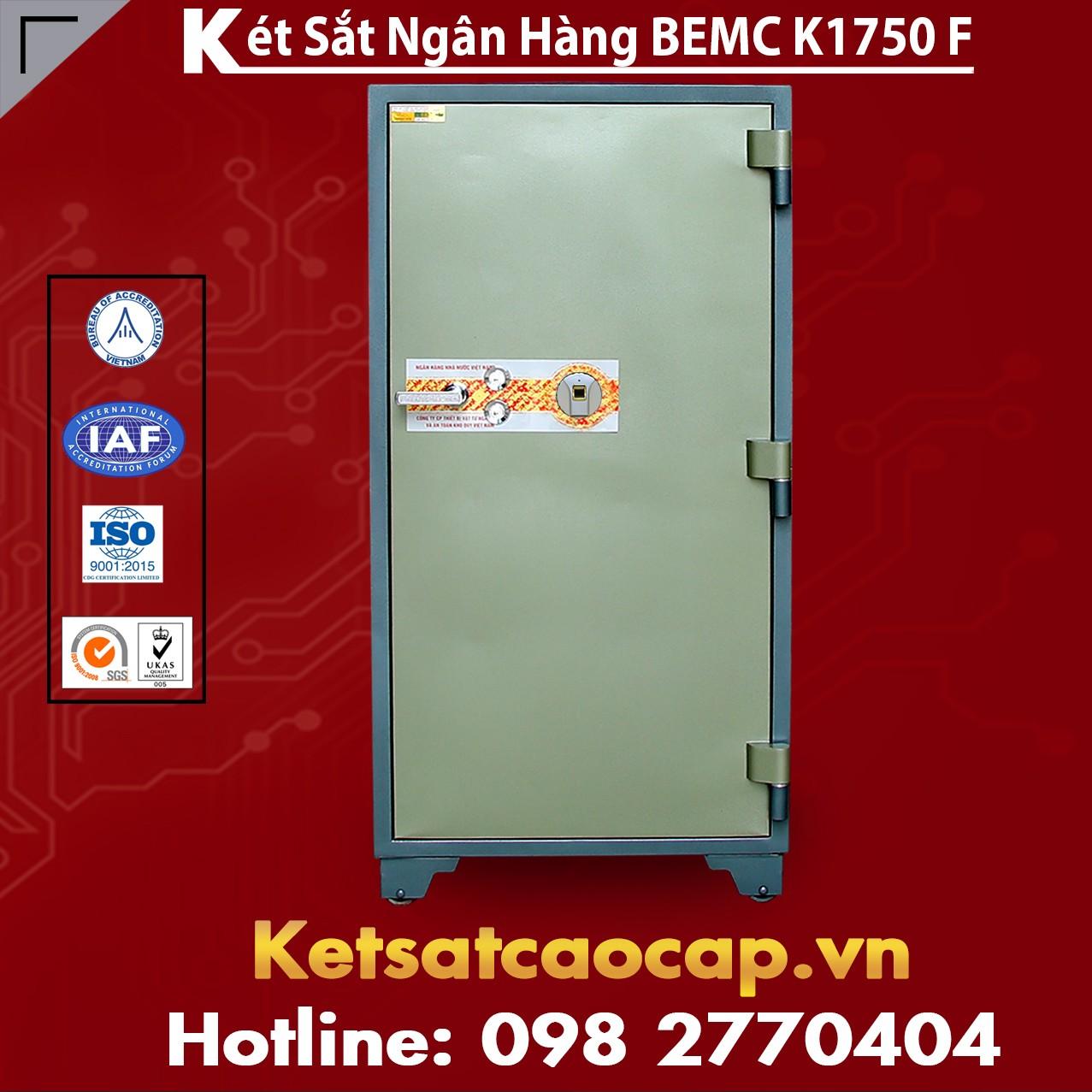Két Sắt Vân Tay Bank Safes BEMC K1750 F Uy Tín Hàng Đầu tại Việt Nam