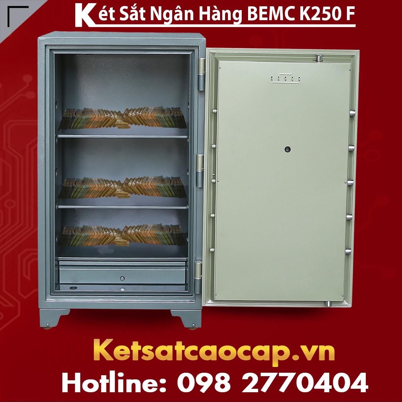 Két Sắt Vân Tay Bank Safes BEMC K250 F Người Tiêu Dùng Quan Tâm Nhất