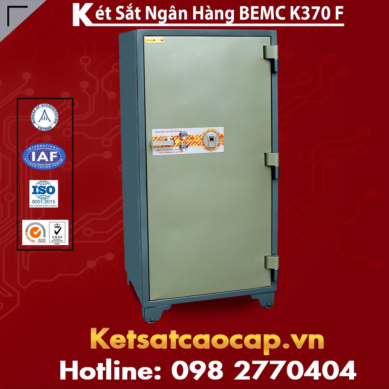 Két Sắt Vân Tay Bank Safes BEMC K370 F Vị Trí Đặt Két Hợp Phong Thủy