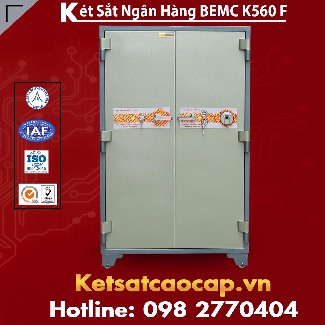 Két Sắt Vân Tay Bank Safes BEMC K560 F Két Bạc Tiêu Chuẩn Xuất Khẩu Mỹ