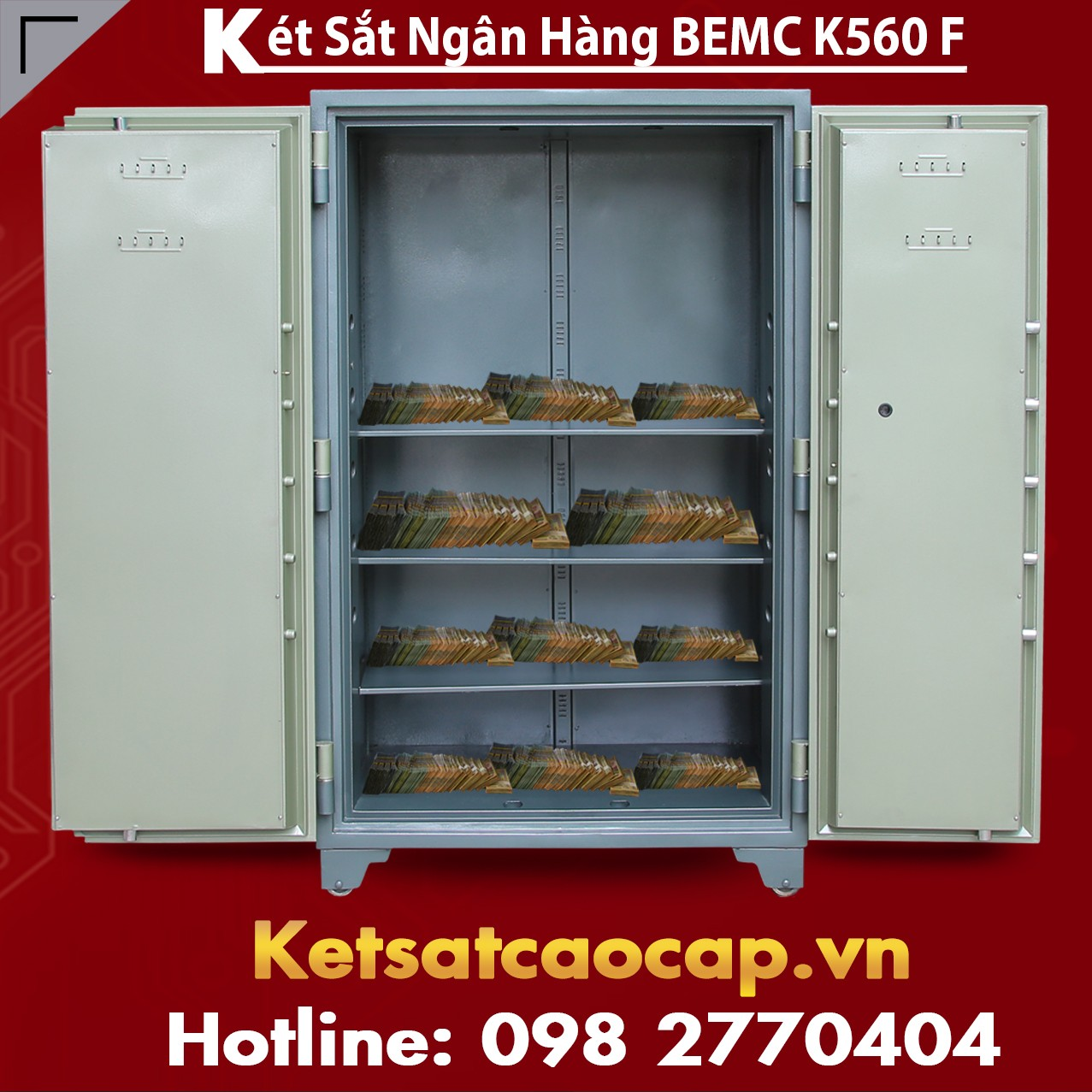 Két Sắt Vân Tay Bank Safes BEMC K560 F Rẻ Nhất Giao Hàng Miễn Phí VN