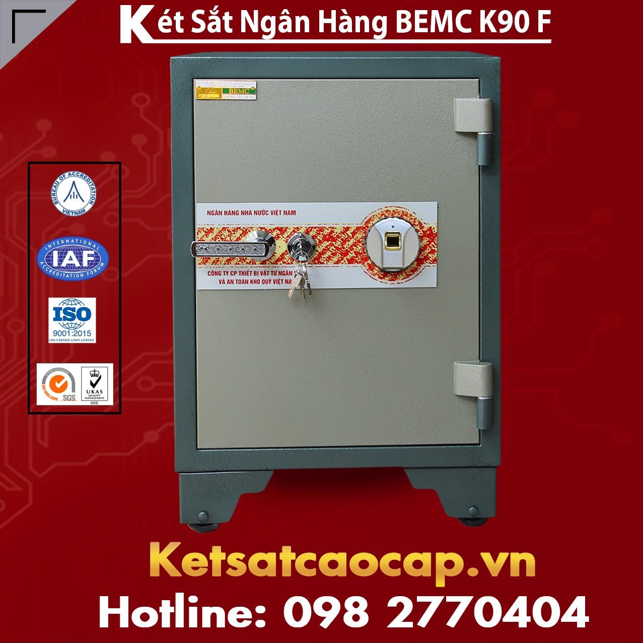 Két Sắt Vân Tay Bank Safes BEMC K90 F Hệ Thống Phân Phối Chính Hãng TQ