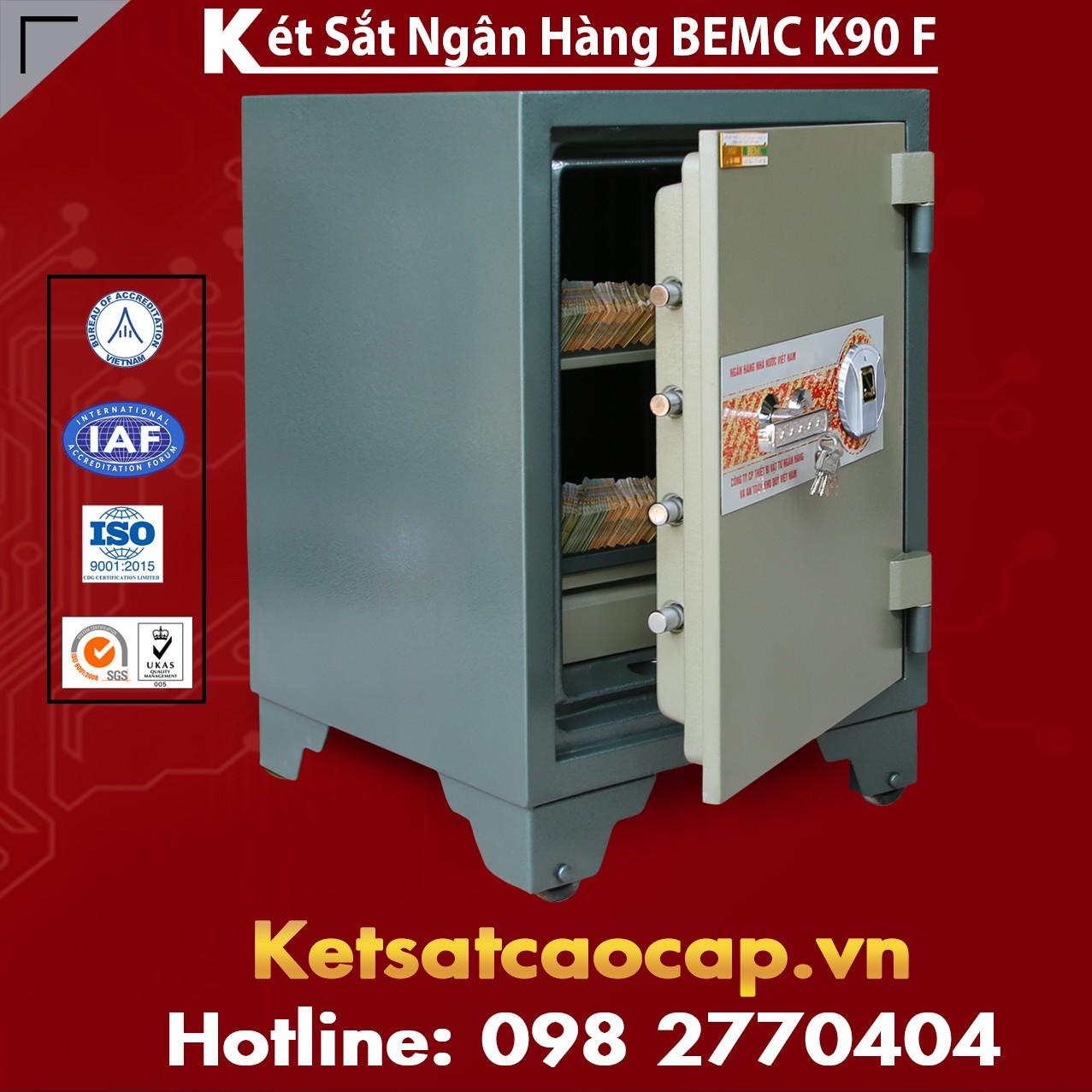 Két Sắt Vân Tay Bank Safe BEMC K90 F Nhà Sản Xuất Két Sắt Hàng Đầu VN