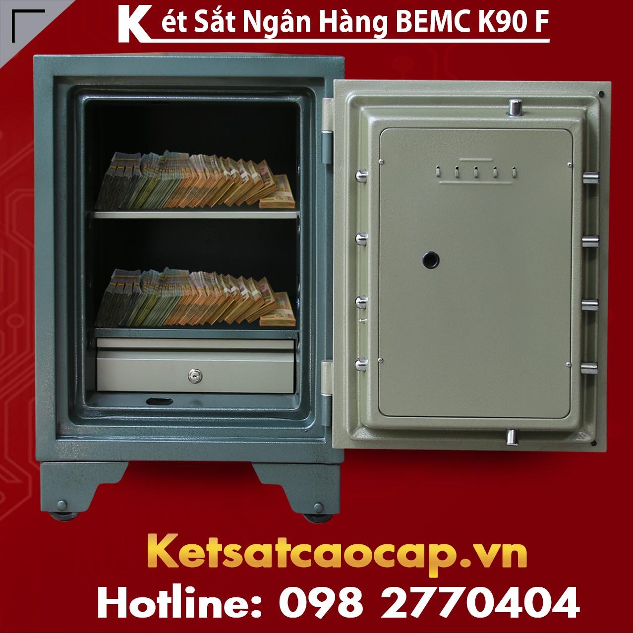 Két Sắt Vân Tay Bank Safes BEMC K90 F Thiết Kế Hiện Đại  Bậc Nhất VN