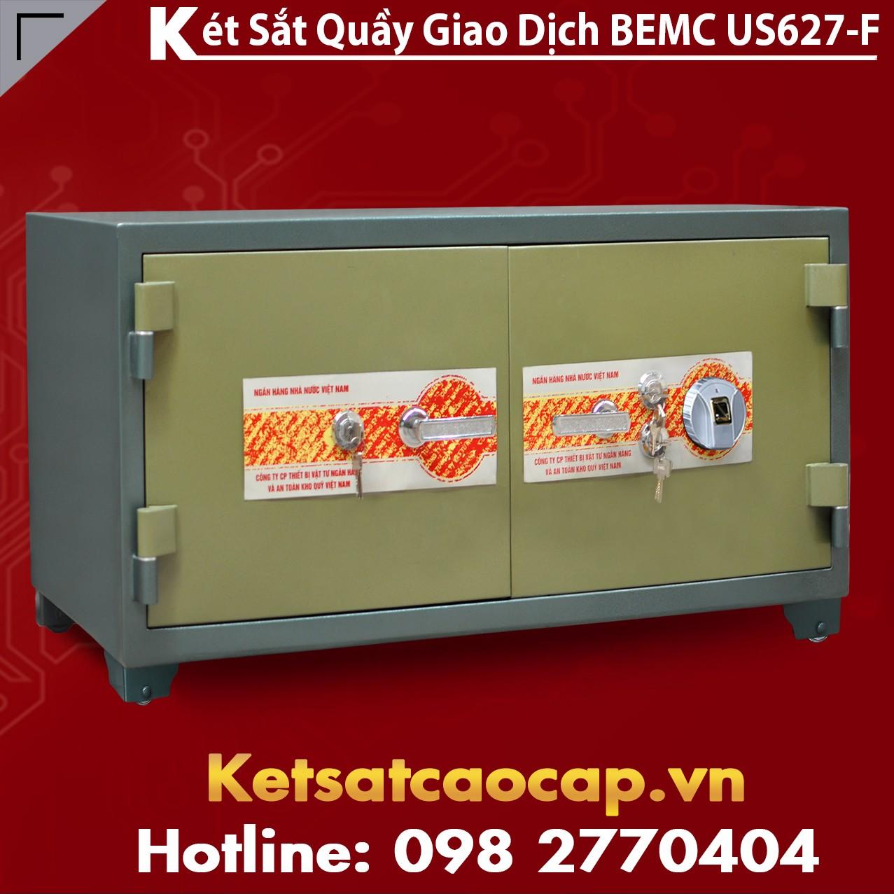 Két Sắt Vân Tay Bank Safe BEMC US627F Uy Tín Chất Lượng Cao Cấp nhất VN