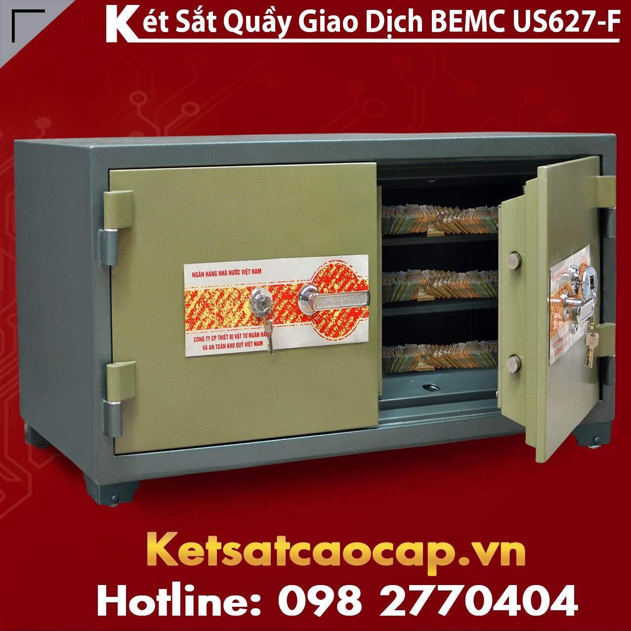 Két Sắt Vân Tay Bank Safes BEMC US627F Nhà Sản Xuất két sắt Uy Tín Số 1