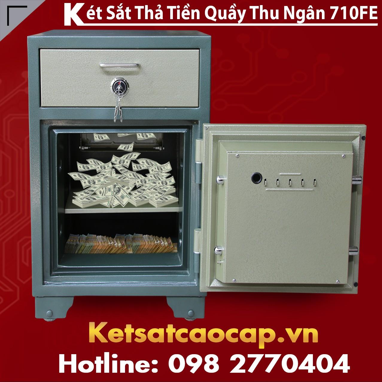 Két Sắt Vân Tay Điện Tử Hàn Quốc Bank Safe BEMC 710FE Độ Bền Đẹp cao