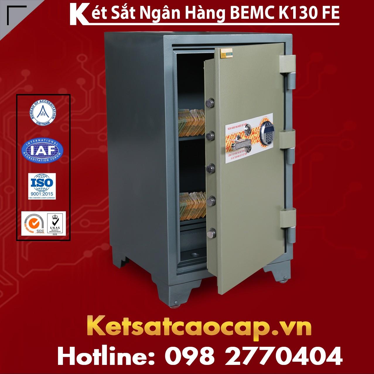 Két Sắt Vân Tay Điện Tử Hàn Quốc BEMC K130 FE Lựa chọn nào tốt nhất