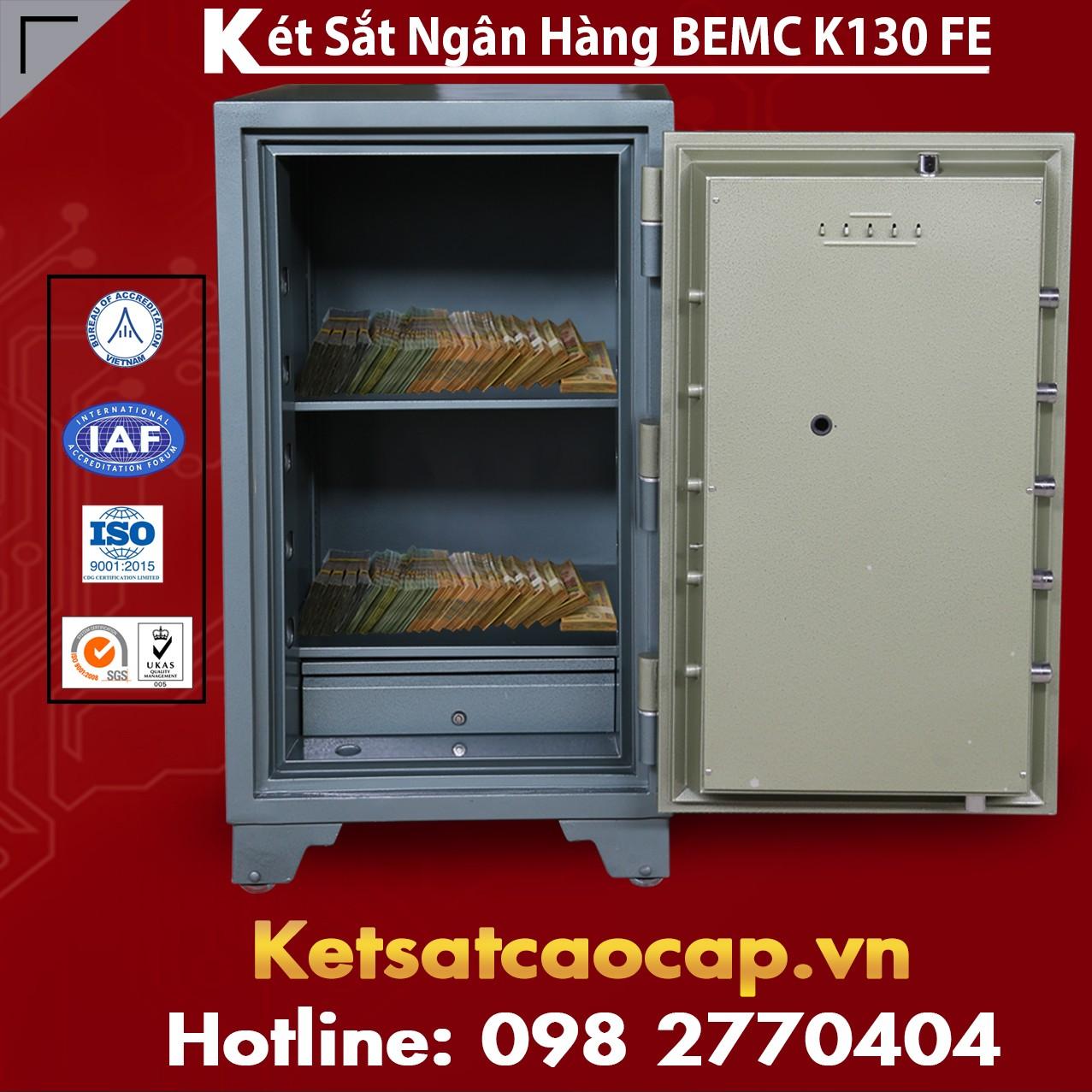 Két Sắt Vân Tay Điện Tử BEMC K130 FE nên lựa chọn loại nào cho tốt