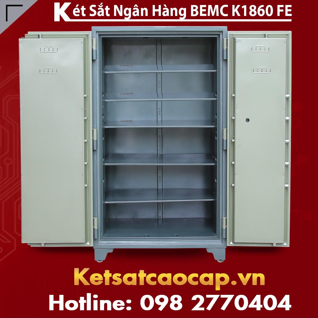 Két Sắt Vân Tay Điện Tử Hàn Quốc 2 Cửa BEMC K1860FE Cách lựa két sịn