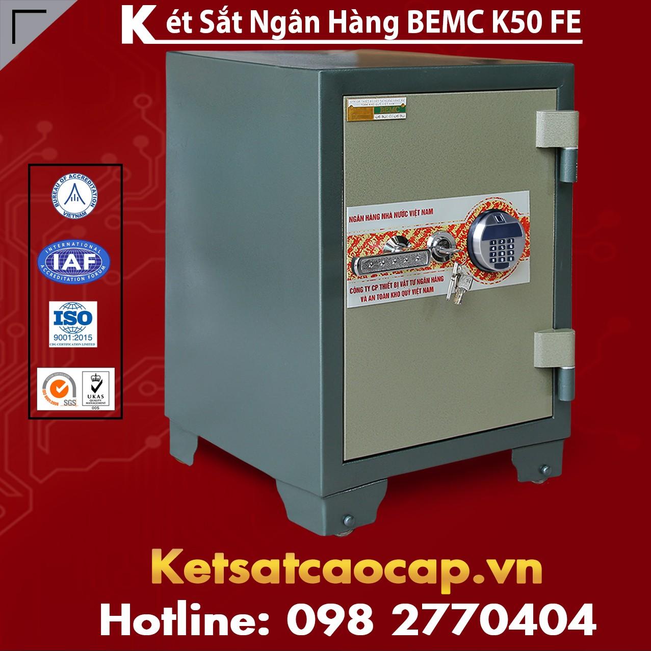 Két Sắt Vân Tay Điện Tử Hàn Quốc BEMC K50 FE Tiên Tiến Hàng Đầu VN