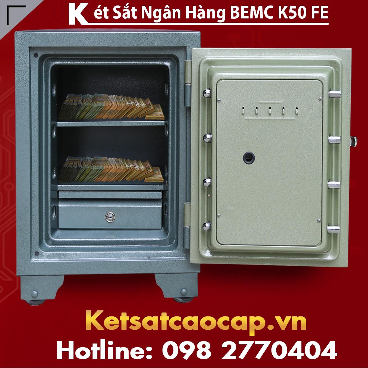 Két Sắt Vân Tay Điện Tử Hàn Quốc BEMC K50 FE SX Dây Chuyền Hiện Đại