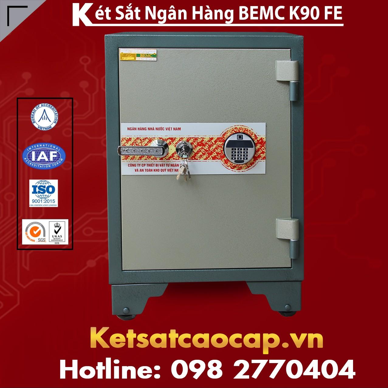 Két Sắt Vân Tay Điện Tử Hàn Quốc BEMC K90 FE Két Sắt An toàn