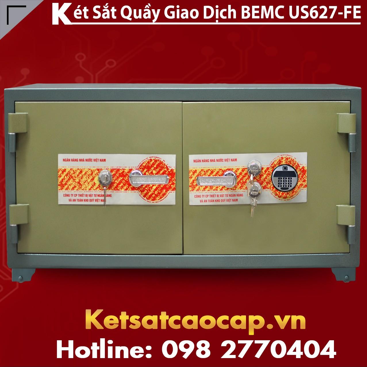 Két Sắt Vân Tay Điện Tử Hàn Quốc BEMC US627 FE Chống Cháy Chính Hãng