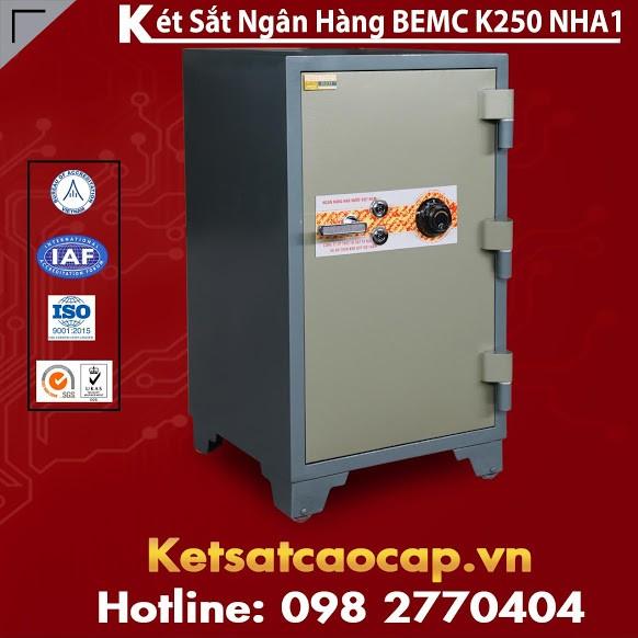 Két Sắt Ngân Hàng BEMC K250 NHA1 Két Được Sử Dụng Nhiều Nhất Hiện Nay