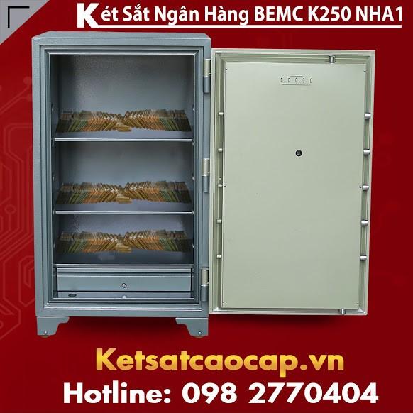Két Sắt Ngân Hàng BEMC K250 NHA1 Được Người Tiêu Dùng Quan Tâm Nhất VN