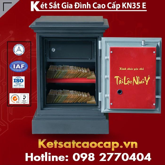 Két Bạc An Toàn KN35 Điện Tử WELKO Fireproof Safes CHÍNH HÃNG
