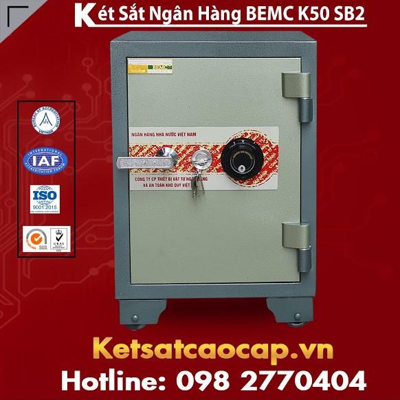 Két Sắt Ngân Hàng BEMC K50SB2 Thương Hiệu Uy Tín Nhất Thị Trường Việt