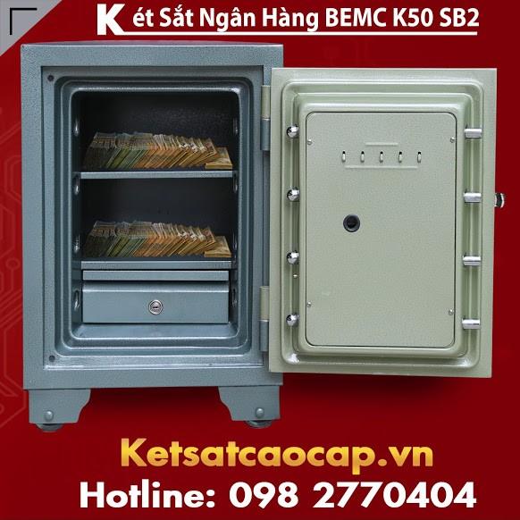 Két Sắt Ngân Hàng BEMC K50SB2 Két Sắt An Toàn Xuất Khẩu Đi Mỹ Giá Tốt