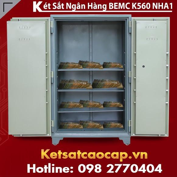 Két Sắt Ngân Hàng BEMC K560 NHA1 Giá Bao Rẻ Nhất Giao Hàng Miễn Phí VN