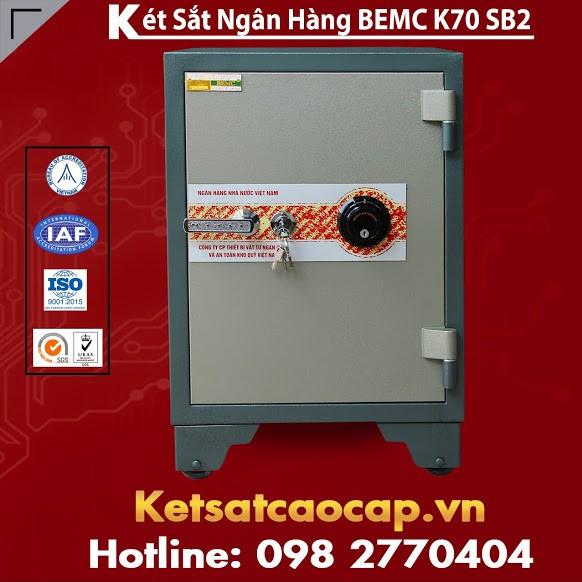 Két Sắt Ngân Hàng BEMC K70SB2 Két Sắt Hệ Thống Khoá Đổi Mã Thông Minh