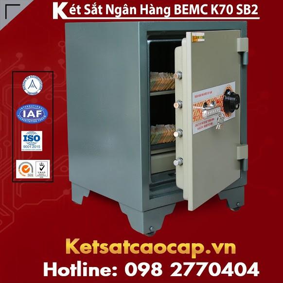 Két Sắt Ngân Hàng BEMC K70SB2 Cung Cấp Két Sắt Hàng Chính Hãng Giá Tốt