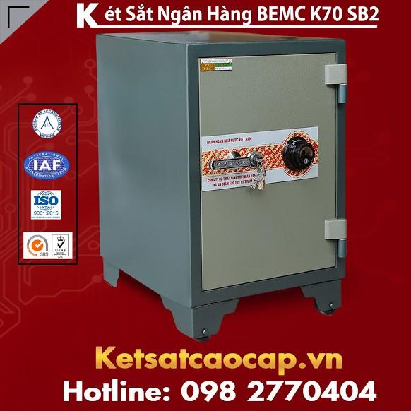 Két Sắt Ngân Hàng BEMC K70SB2 Tiện Dụng Bảo Vệ Tài Sản Tốt Nhất Uy Tín