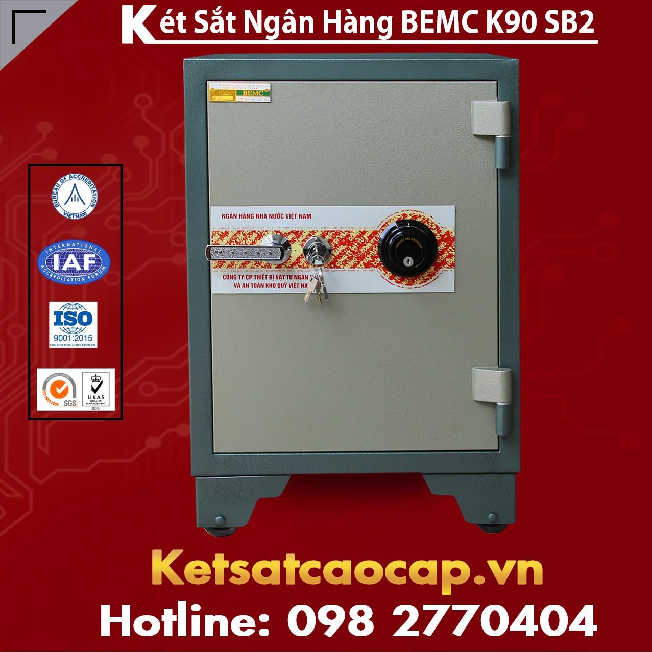 Két Sắt Ngân Hàng BEMC K90SB2 Hệ Thống Phân Phối Chính Hãng