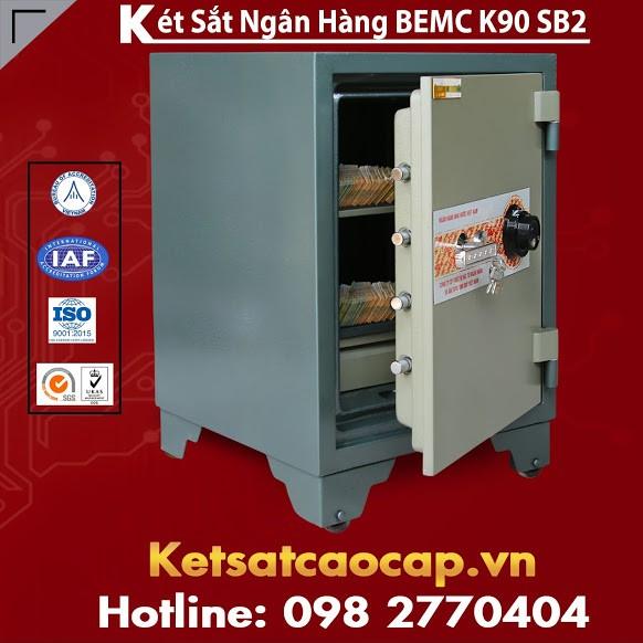 Két Sắt Ngân Hàng BEMC K90SB2 Nhà Sản Xuất Két Sắt Hàng Đầu Việt Nam