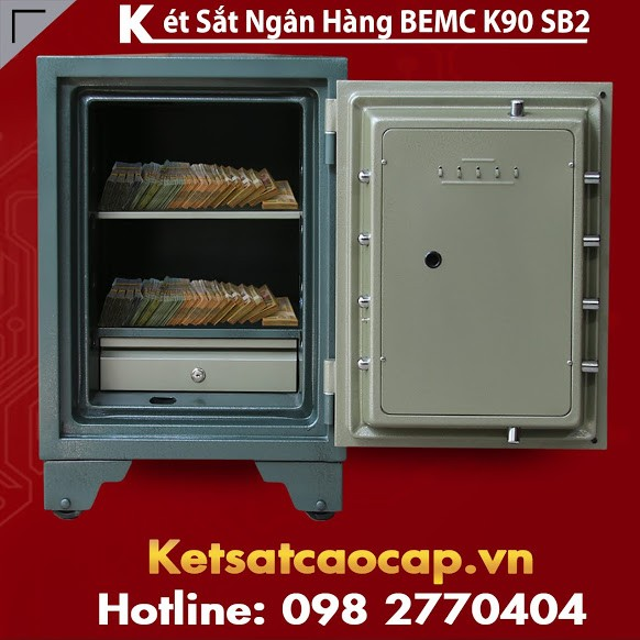 Két Sắt Ngân Hàng BEMC K90SB2 Thiết Kế Hiện Đại Sang Trọng Bậc Nhất VN