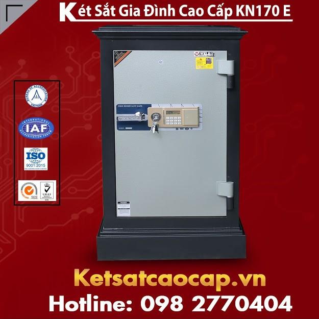 két sắt gia đình kcc160 khoá vân tay hcm giá rẻ