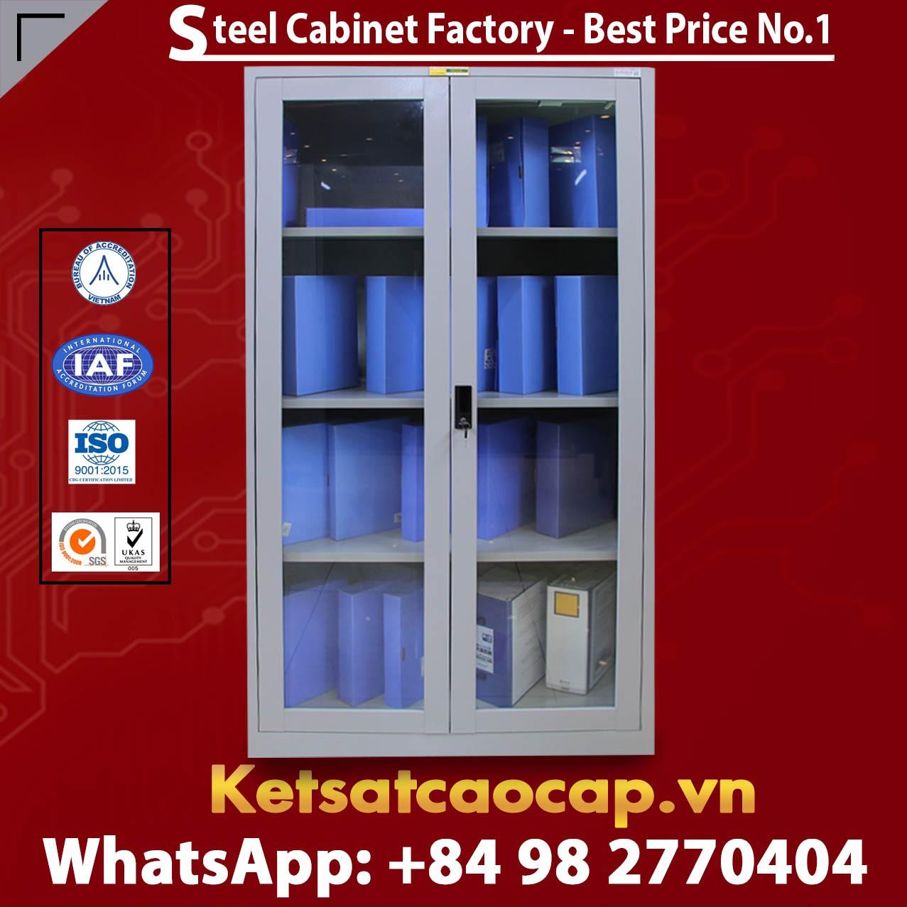 Glass Door Metal Cabinets