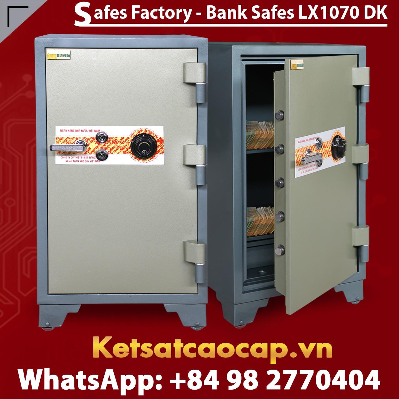 Bank Safes LX1070 DK Top 1 Quality Bank Safe Luxury Design From BEMC
