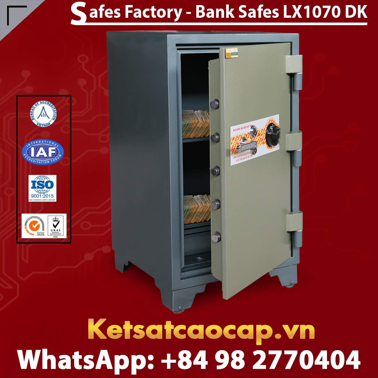 Bank Safes Manufacturing Facility