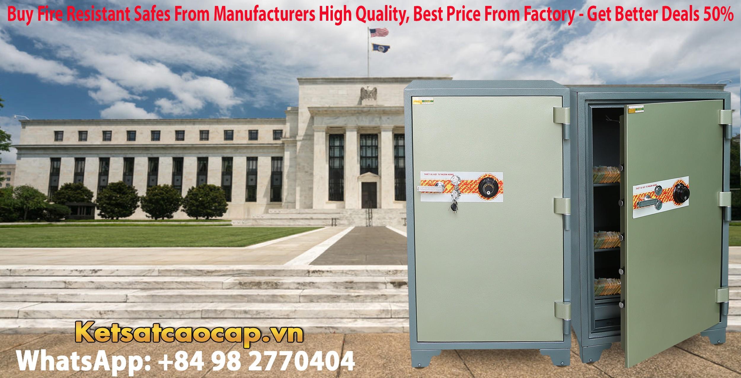 hình ảnh sản phẩm két sắt ngân hàng cỡ lớn tphcm