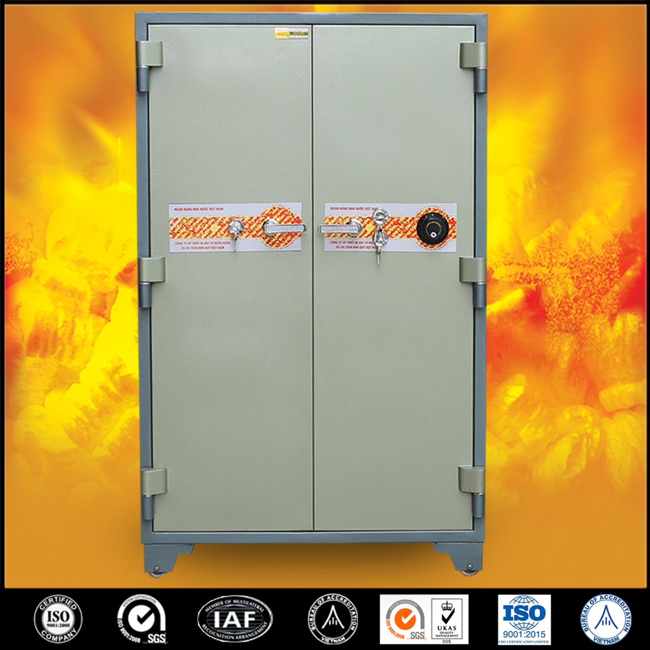 Bank Safes Deposit Box Factory