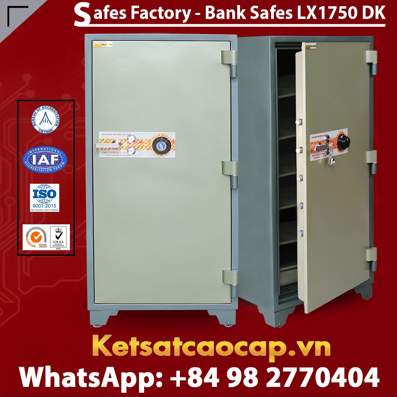 Bank Safe LX1750 DK Custom Bank Safes Fireproof Safe Security Safe Box