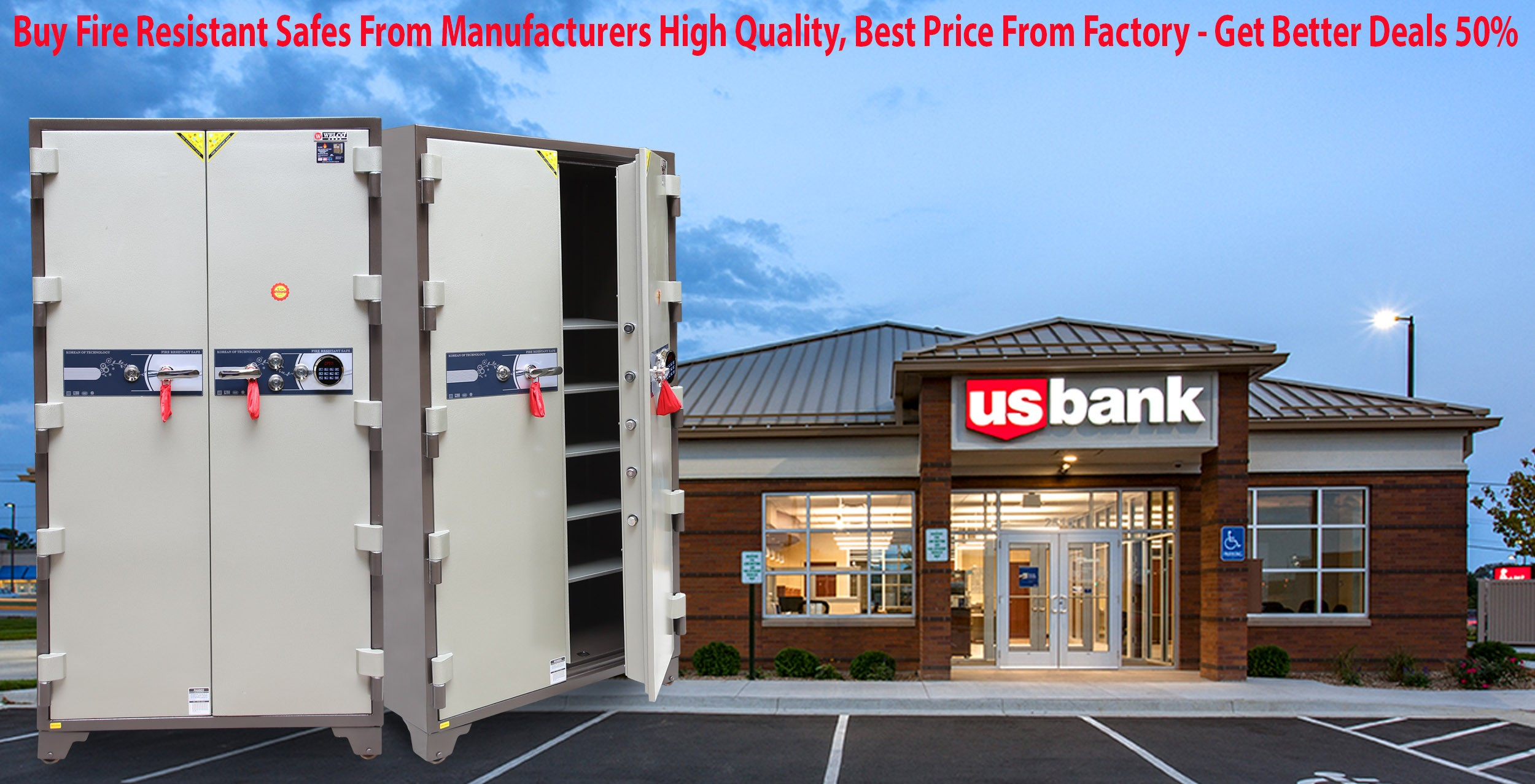 Bank Safes Manufacturers & Suppliers