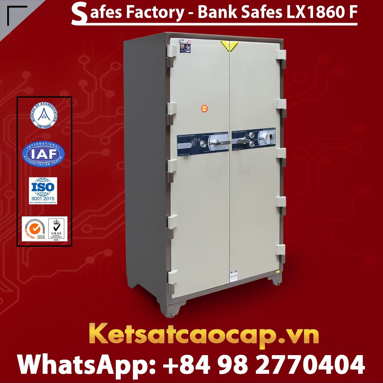 Bank Safes LX 1860 F Two Door Fingerprint Locking Customized Models