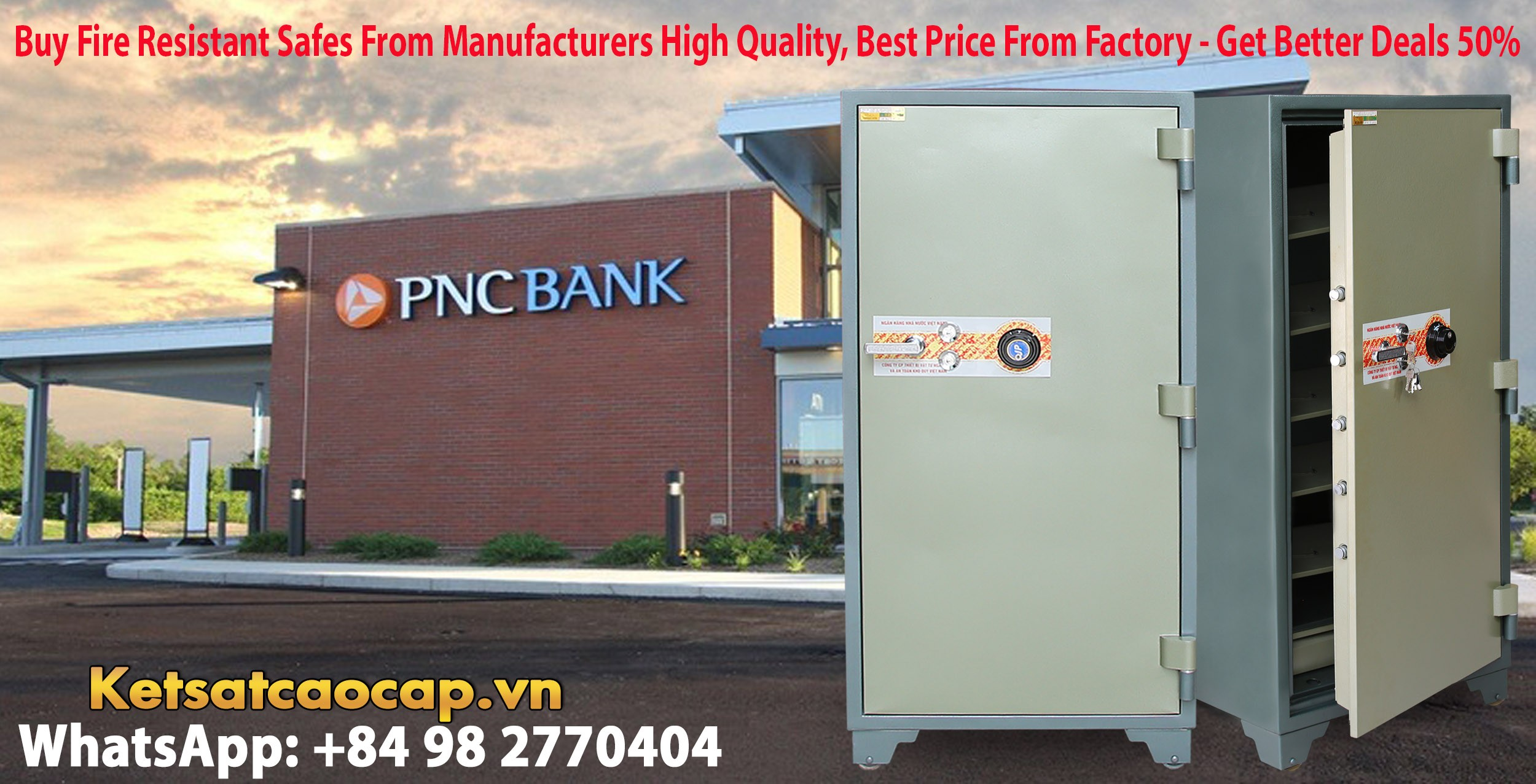 Bank Safe Factory Direct & Fast Shipping