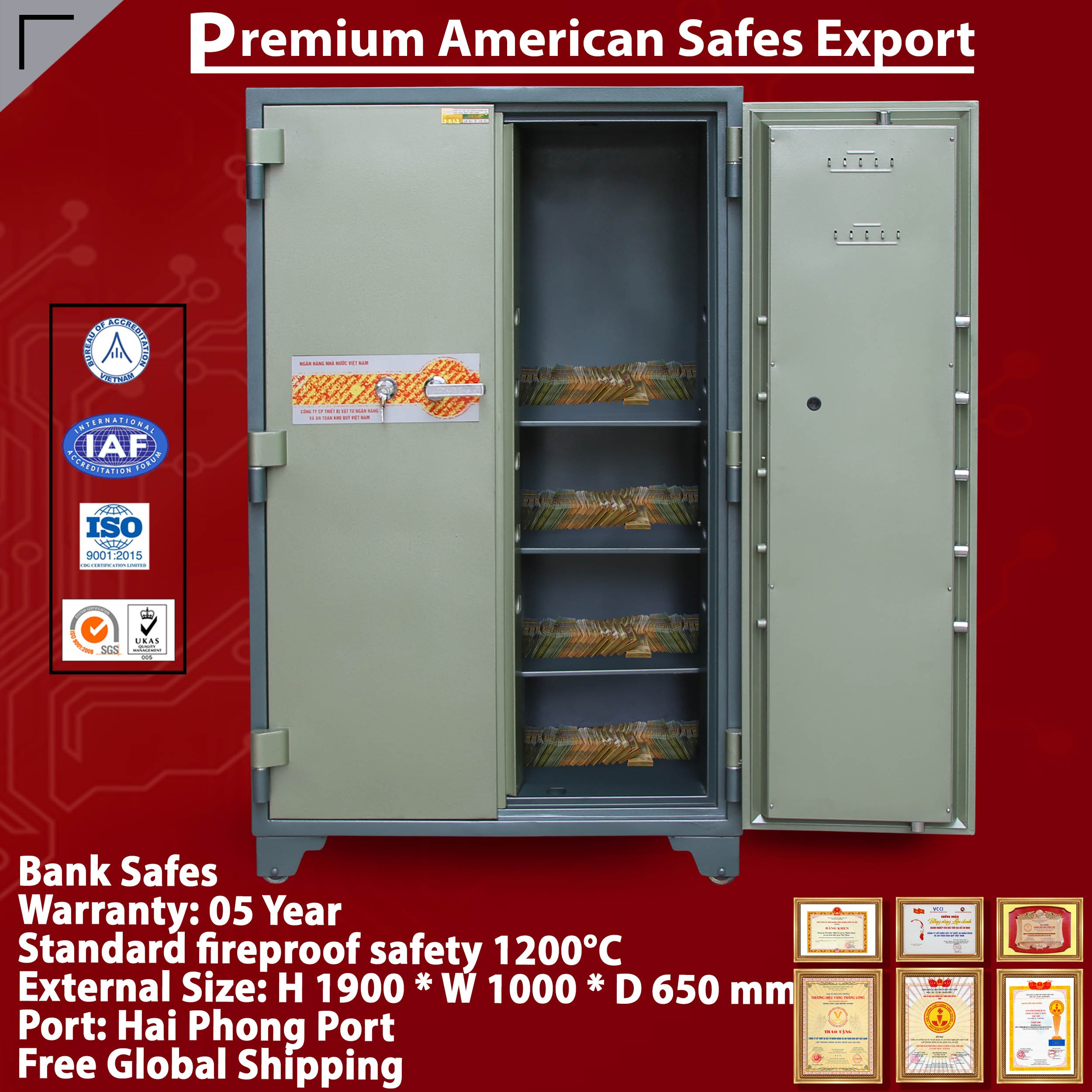 Bank Safes Suppliers And Exporters
