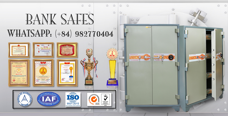 hình ảnh sản phẩm Bank Safes LX2000 DK Two Doors Mechanical Fireproof