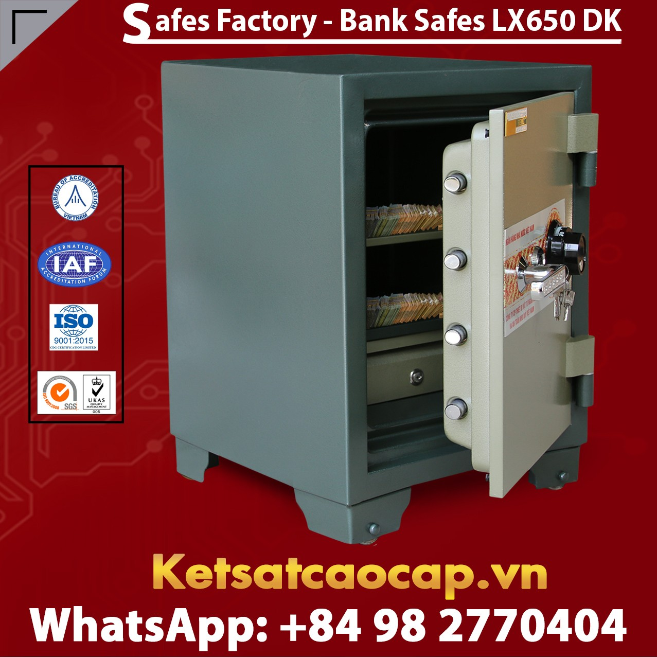 Bank Safes LX650 DK Customized Bank Safes Factory Price For Wholesale