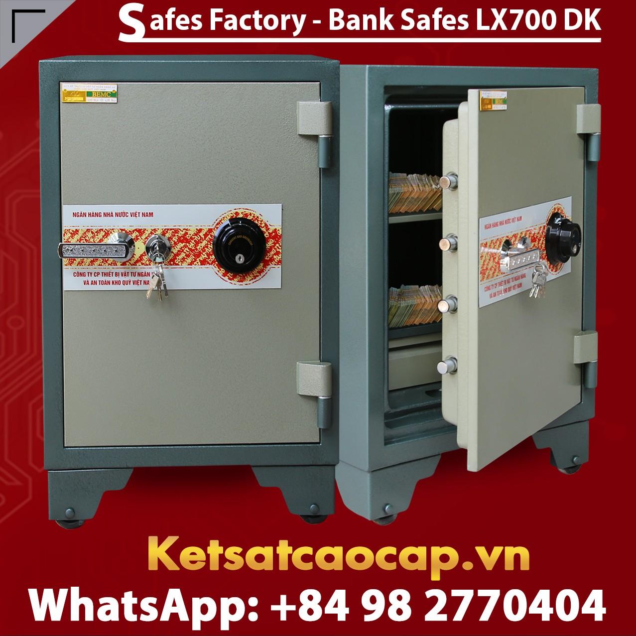 Bank Safes LX700 DK Luxurious Design High Quality Secure Bank Safe Box