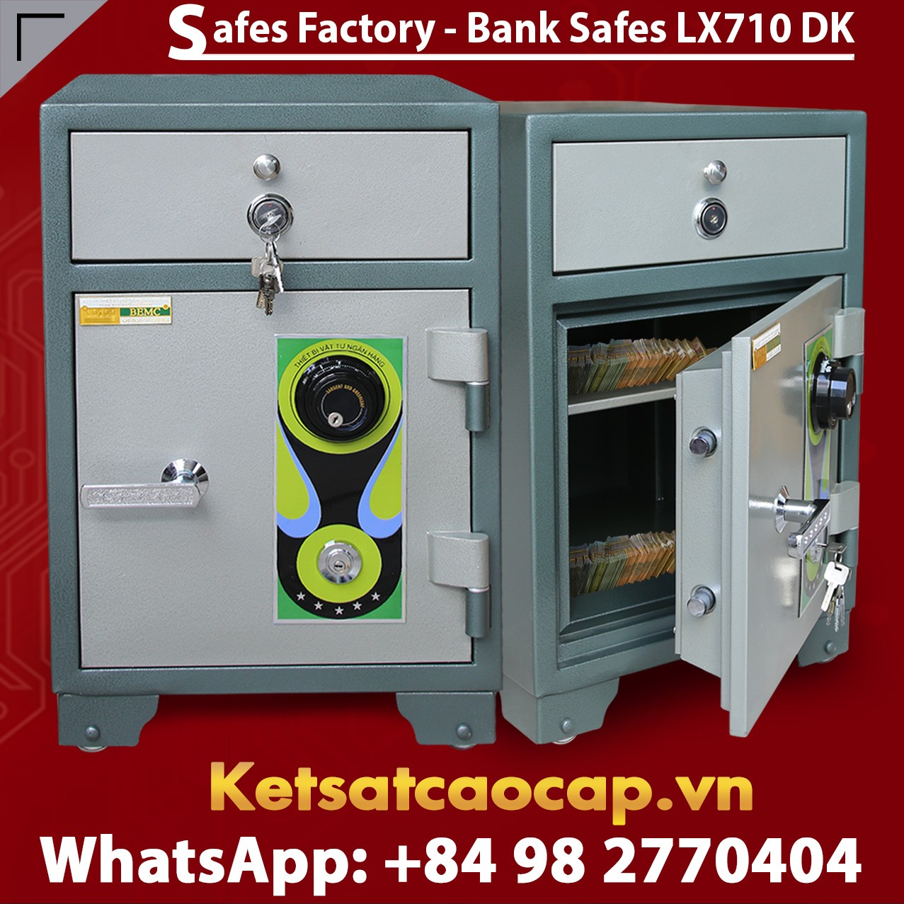 Mechanical Safe Deposit Box
