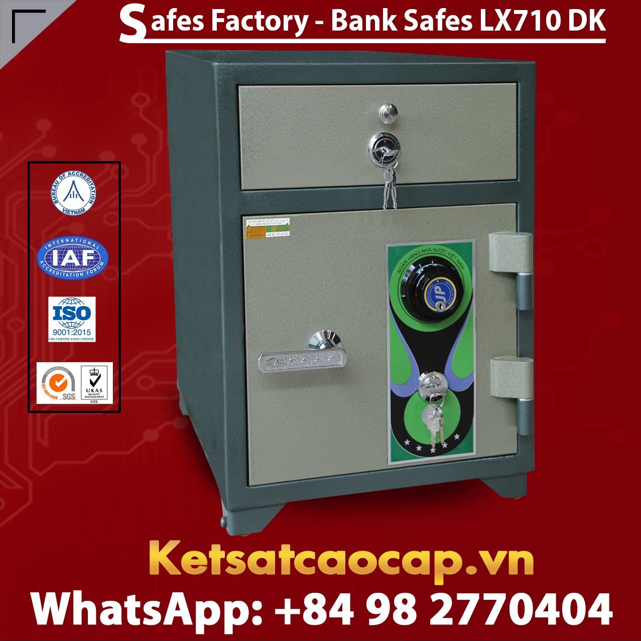 Bank Safes LX710 DK Security Cash Locker Depository Safe Deposit Box