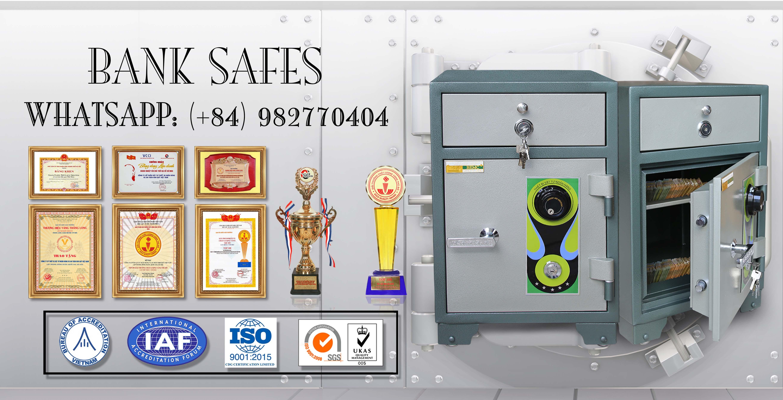hình ảnh sản phẩm Bank Safes LX710 DK Security Cash Locker Depository Safe Deposit Box