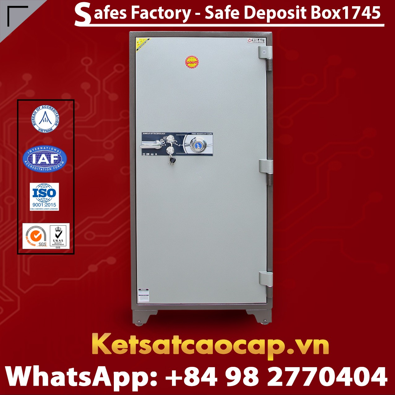 Bank Deposit Safes LX1745 Newest Design Secure For The Banking System